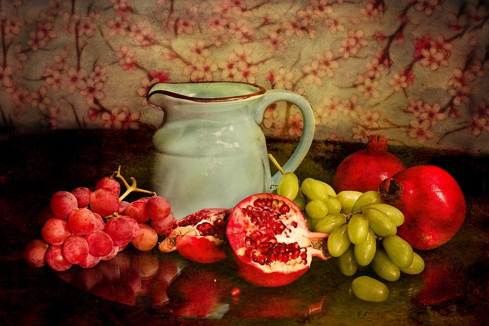 Still Life, Fine Art, Still-life, Painting, Fruit