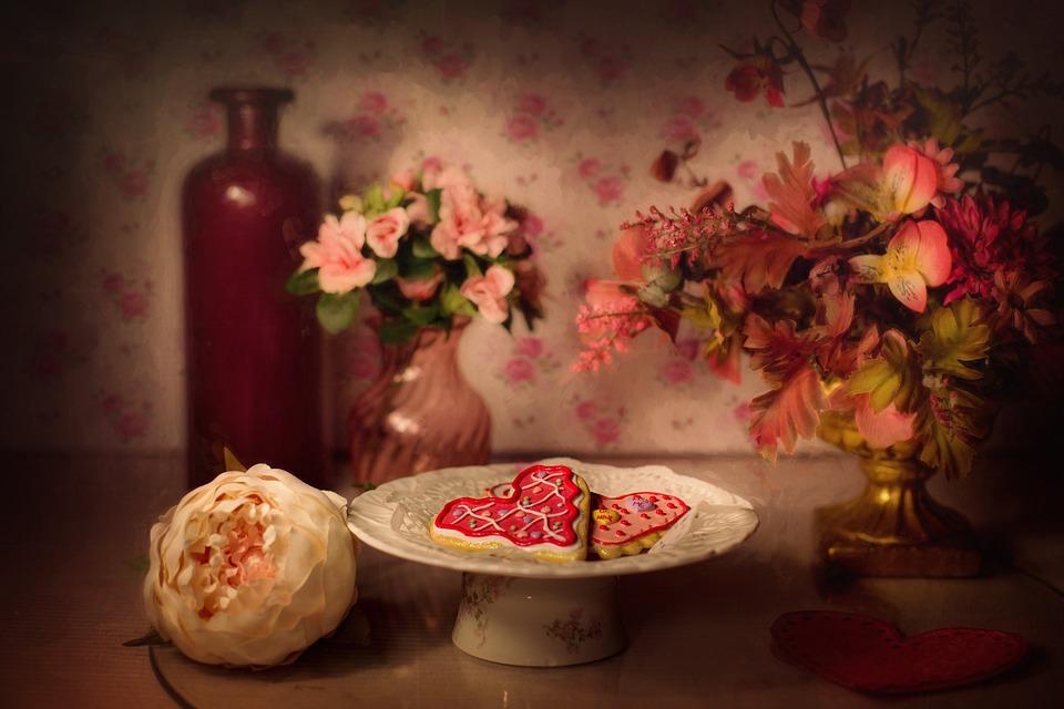 Valentine's Day, Valentine Cookies, Still-life
