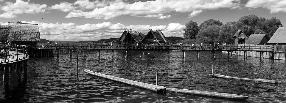 Lake Constance, Unteruhldingen, Stilt Houses