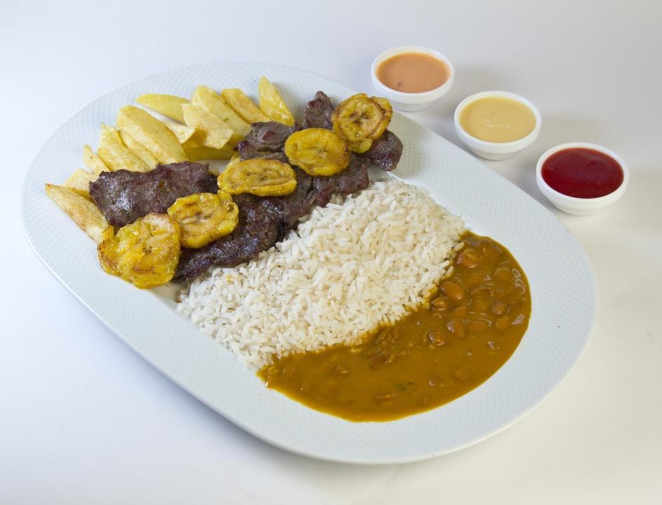 Stew, Stir-fried Beef, Patacones