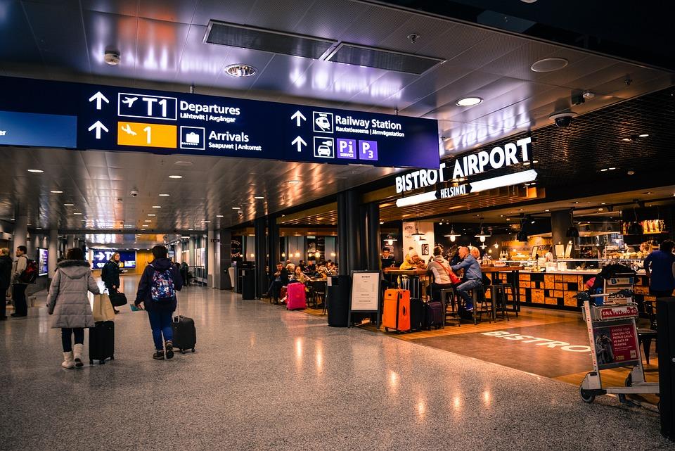 Terminal, Helsinki, Flight, Shopping, Stock
