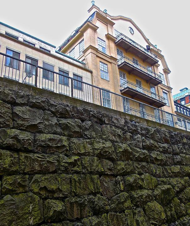 Facade, Structure, Wall, City, Stockholm, Södermalm