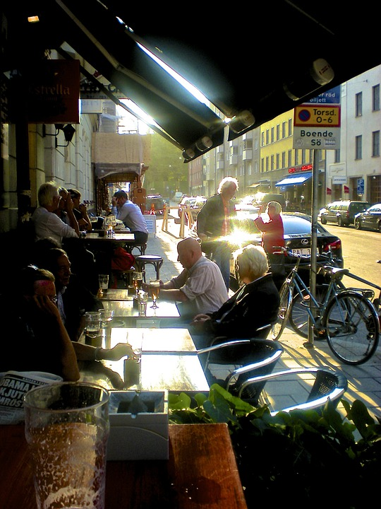 Street Life, Outdoor Seating, Södermalm, Stockholm