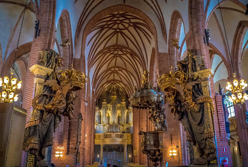 Cathedral, Stockholm, Sweden, Scandinavia, Architecture