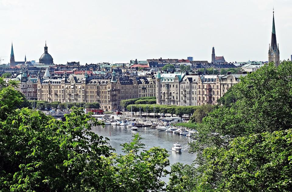 Stockholm, Sweden, Views, House