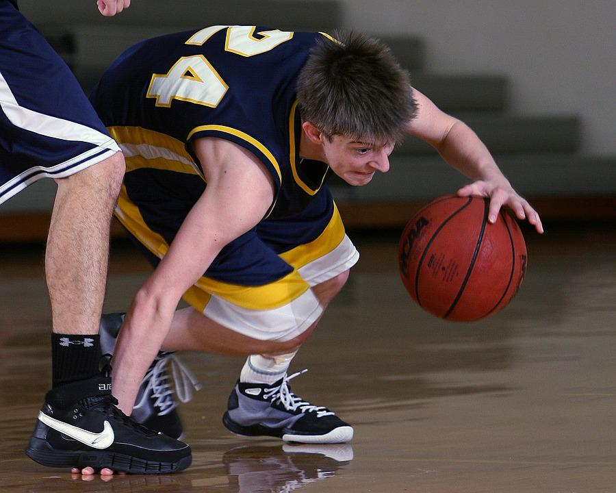 Basketball, Player, Fingers, Stomp, Ball, Sport, Game