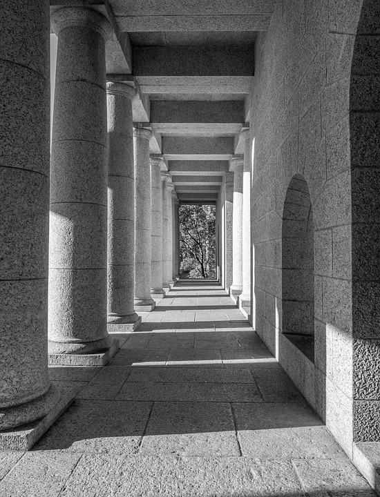 Rhodes Memorial, Architecture, Building, Column, Stone