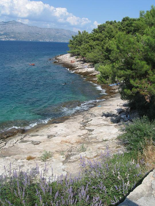 Sea, Croatia, Coast, Stones, Summer, Stone Beach
