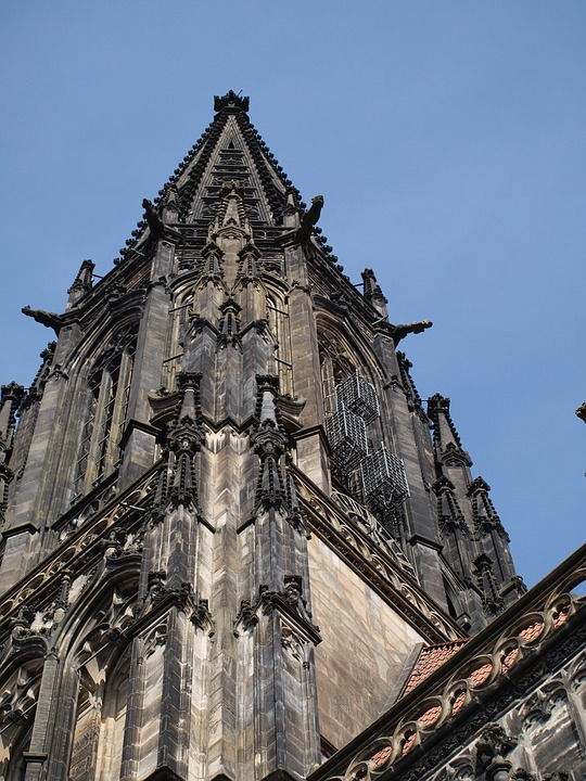 Dom, Building, Church, Stone