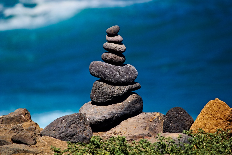 Cairn, Stone, Balance, Pleated, Sea, Stability, Tower