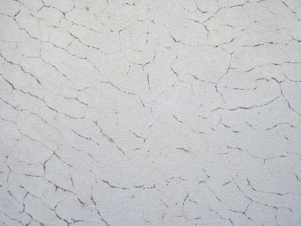 Texture, Wall, Stone, Cracks, White, Black