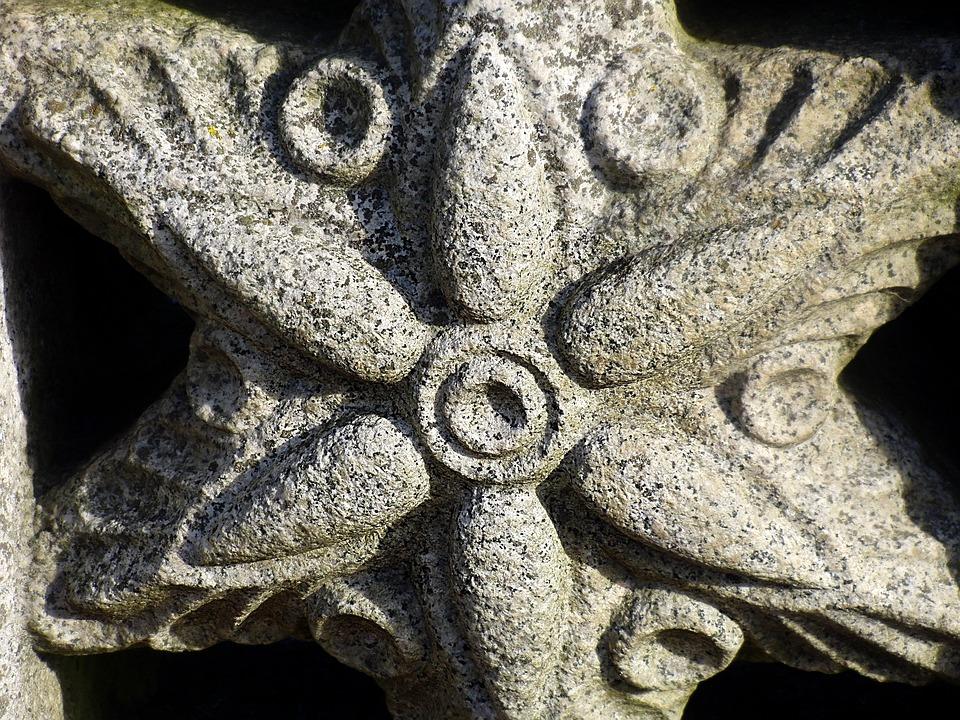 Starfish, Stone, Architecture, Decorative