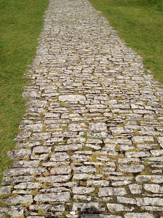 Texture, Corfe Castle, Dorset, Path, Stone, Way