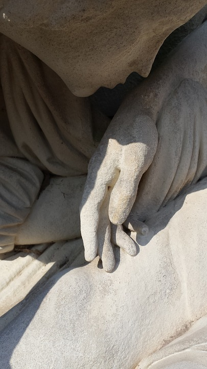 Hand, Stone, Finger, Stone Figure, Sculpture