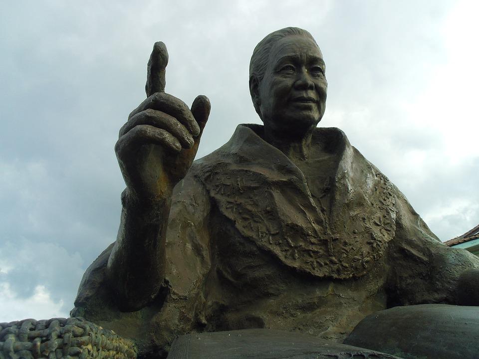 Statue, Old, Filipino, Spanish, Figure, Statues, Stone