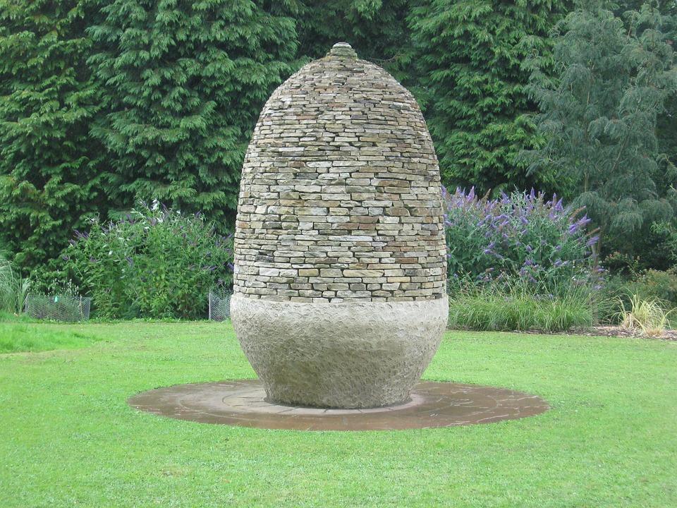 Stone, Garden, Sculpture, Outdoor, Ornament, Folly