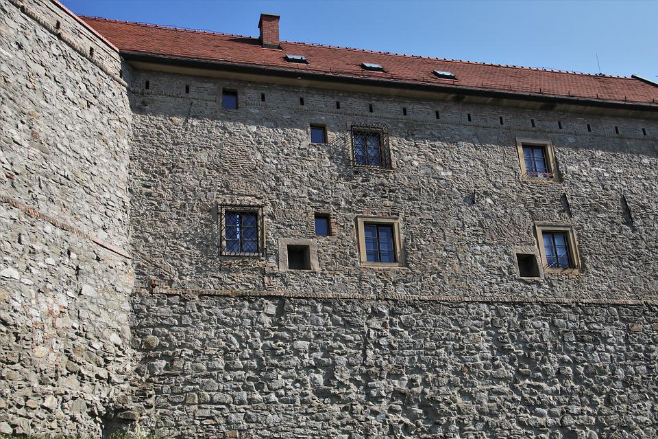 Stone Wall, Antique, Wall, Bratislava, Fortress, Stone