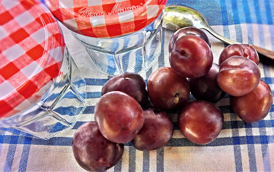 Plums, Fruits, Stone Fruit, Summer, Nature, Fresh