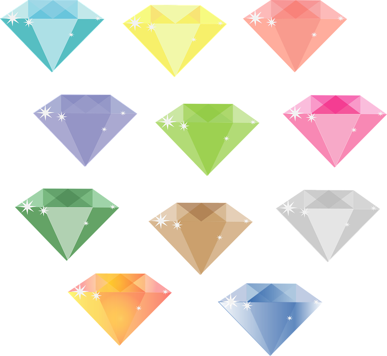 Diamond, Gems, Jewellery, Stone