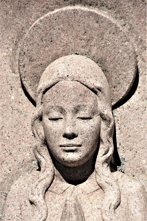 Statue, Granite, Sculpture, Shadow, Figure, Stone