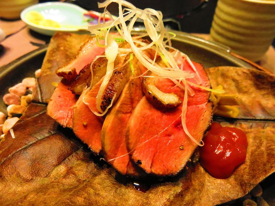 Beef, Gourmet, Kaiseki, Stone Grill, Stone