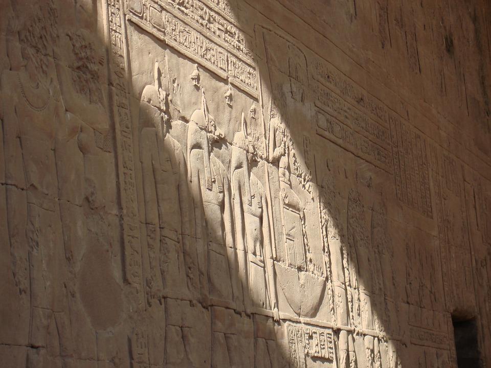Egypt, Hieroglyph, Egyptian, Stone