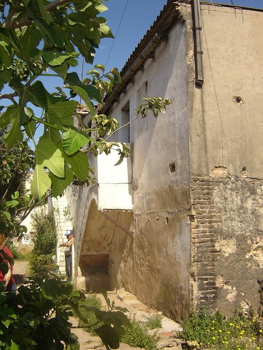 Farmhouse, Casa Vieja, Stone House, Side