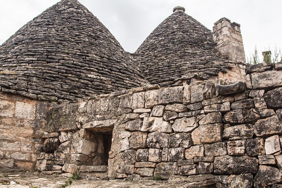Trulli, Appulien, Stone House, Trullis