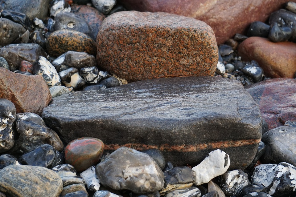 Stone, Lake, Sea, Water, Beach, Stones, Nature