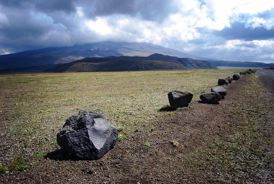 Cotopaxi, Mexico, Volcano, Barrier, Stone, Landscape