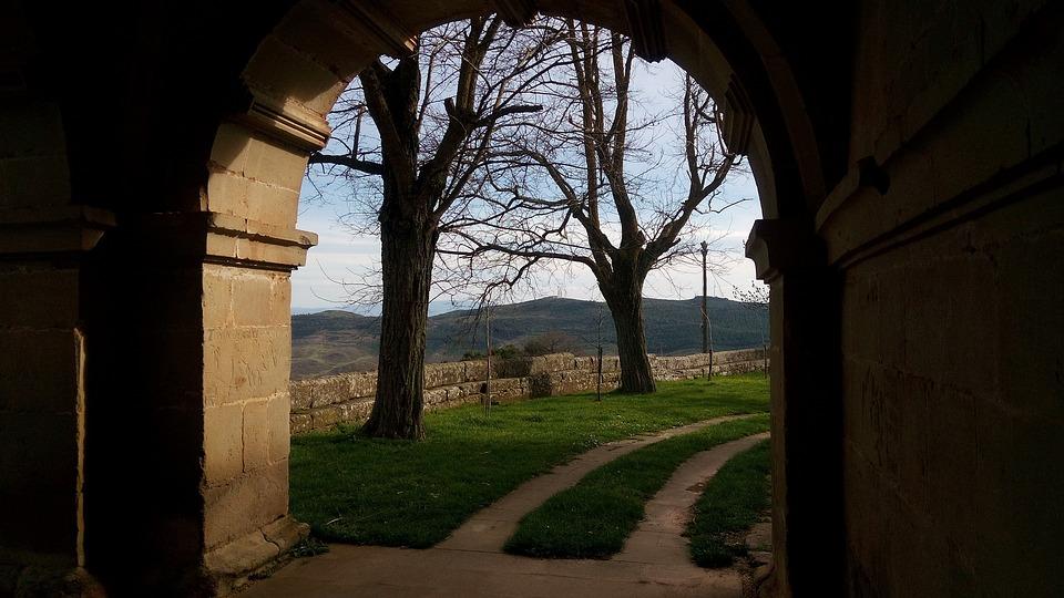 Door, Arc, Path, Input, Portal, Old, Stone, Medieval