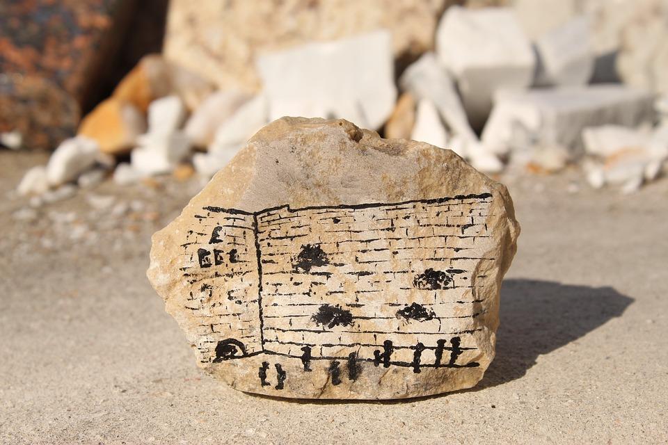 Kotel, Kosel, Jerusalem, Israel, Stone, Painted Rock