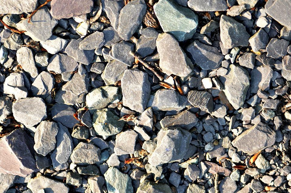 Stone, Pebble, Path, Material, Gray