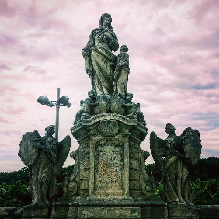 Statue, Sculpture, Religion, Stone, Architecture