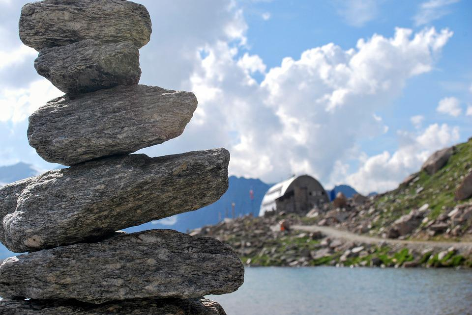Stone, Nature, Mountains, Rock, Stack, Stenenstapel