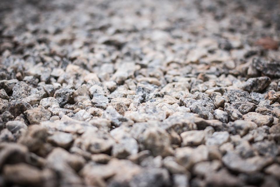 Dry, Rough, Stone, Gravel, Crushed Stone