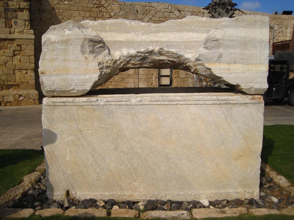 Sarcophagus, Israel, Tomb, Ancient, Stone, Archeology