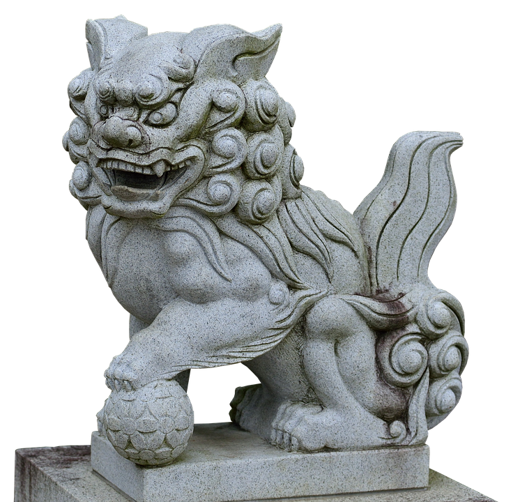 Statue, Stone, White, Lion, Sculpture, Stone Sculpture
