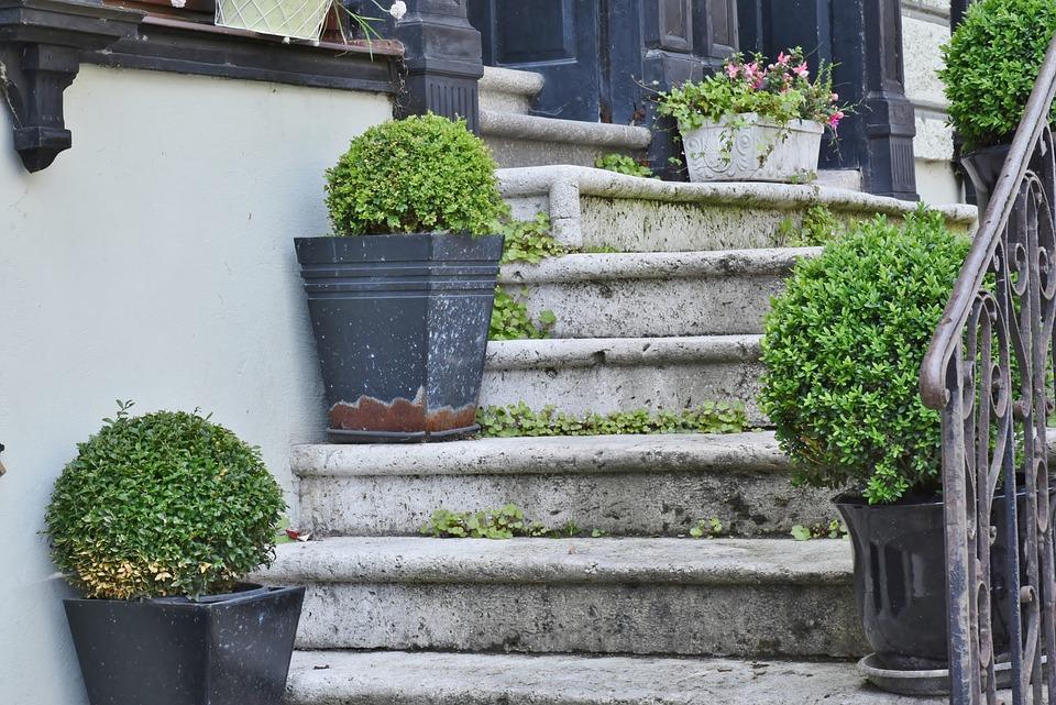 Stairs, Stones, Stone Stairway, Gradually, Architecture