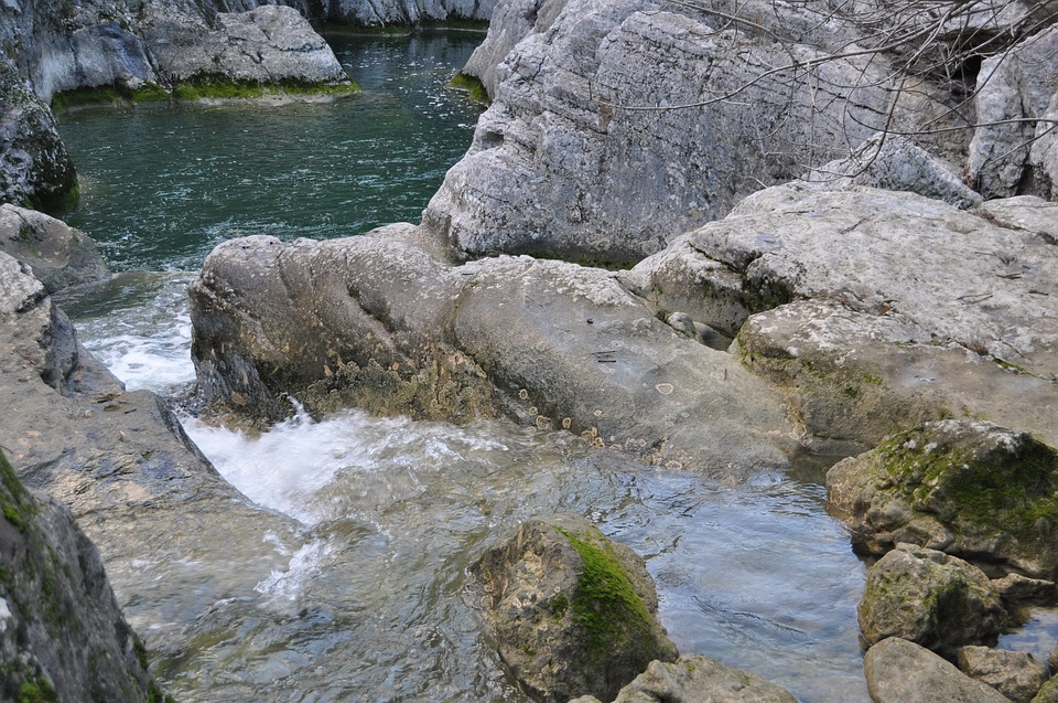 Stream, Water, Rock, Stone, Nature, Waterfall
