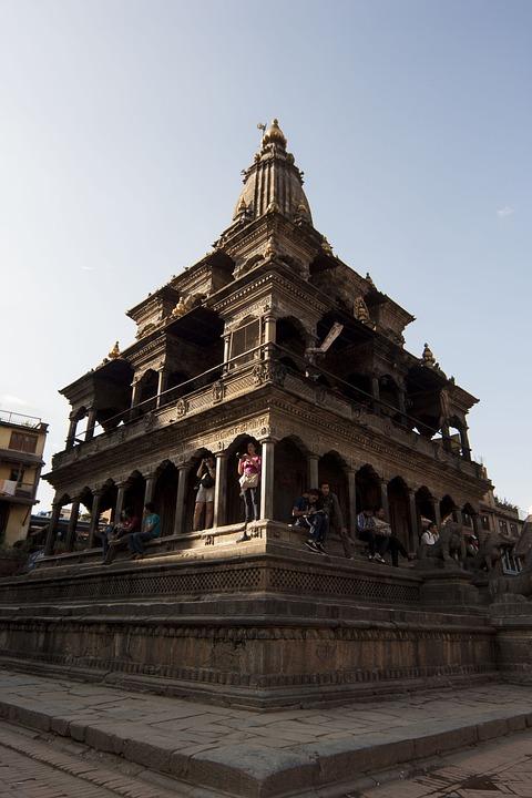 Temple, Patan, Krishna Mandir, Stone, Stone Temple