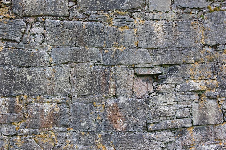 Stone Wall, Stone, Texture, Pattern, Wall, Architecture