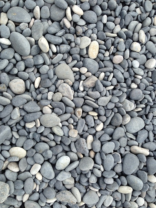 Iceland, Beach, Stone Texture, Nature