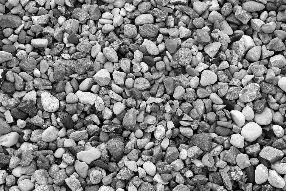 Pebbles, Stone, Texture, Model, The Background