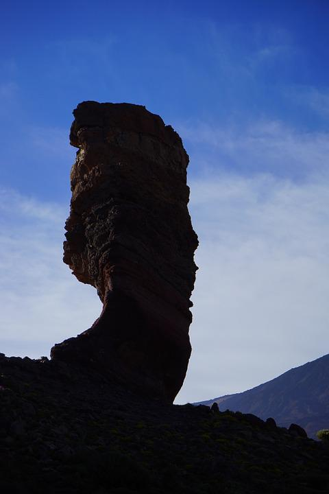 Roque Cinchado, Stone Tree, Finger Of God, Rock Tower