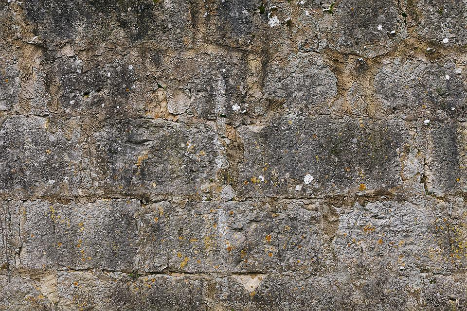 Stone Wall, Quarry Stone, Weathered, Natural Stone