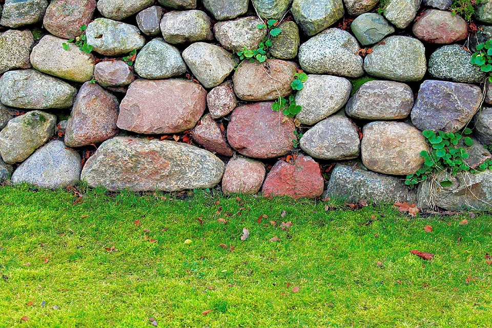Stone Wall, Wall, Stones, Background