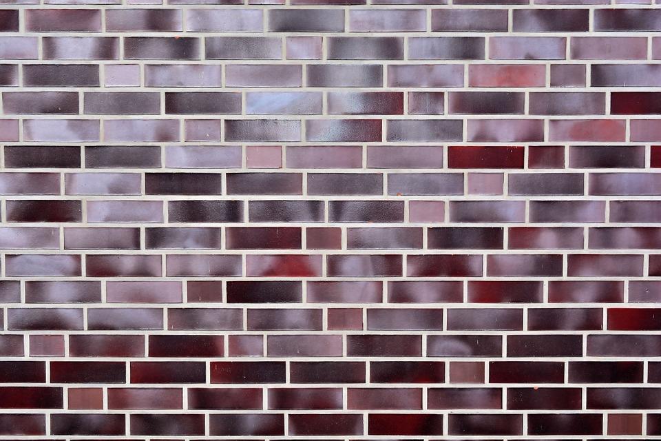 Hauswand, Bricks, Stone Wall, Wall, Symmetrical