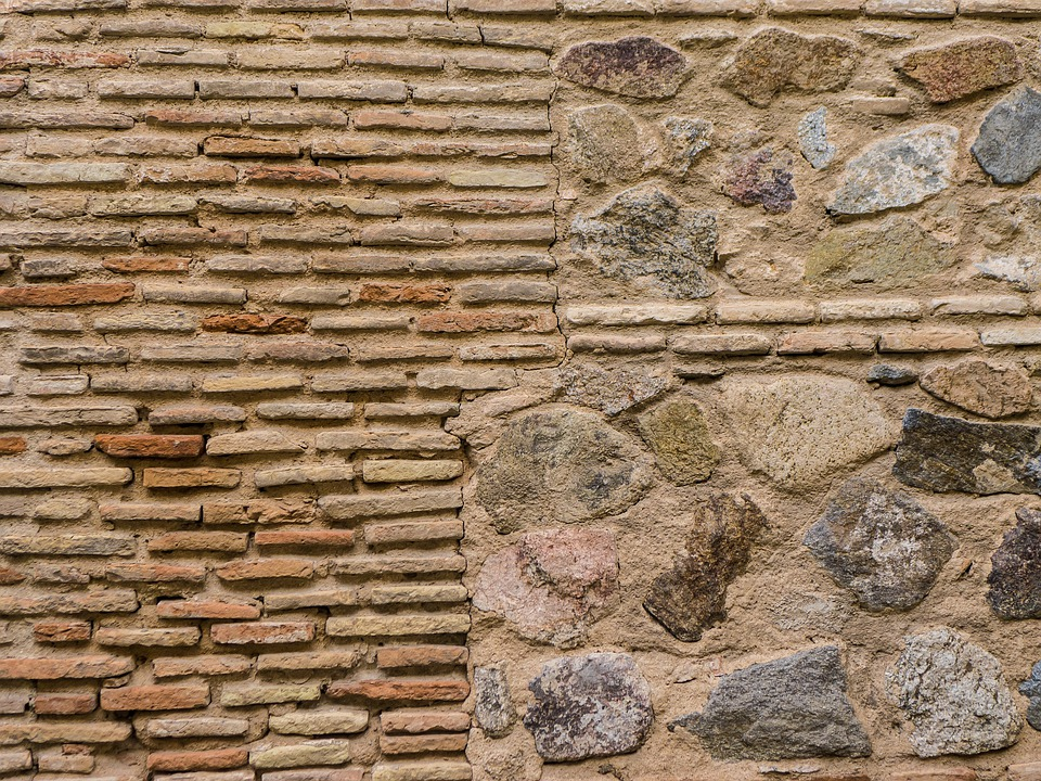 Wall, Stone, Brick, Temple, Old, Stone Wall