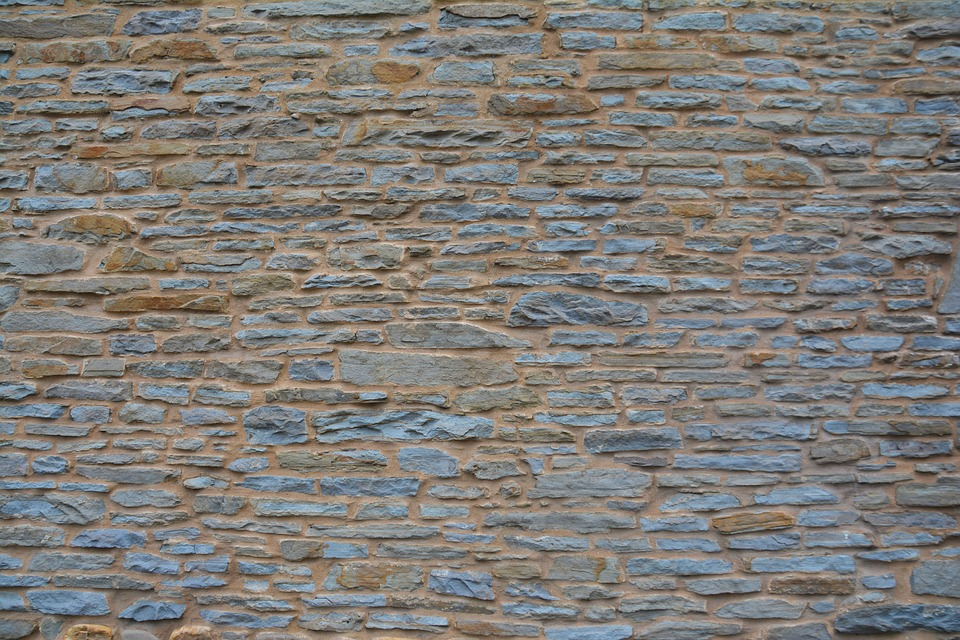 Stone Wall, Welsh Wall, Stone, Wales, Welsh, Wall